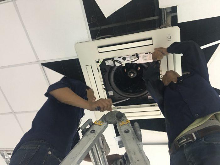 sửa máy lạnh tại thuận an bình dương - dienlanhtyphaco.com 2